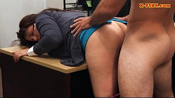 Busty amateur wife pounded by pawn man in the backroom