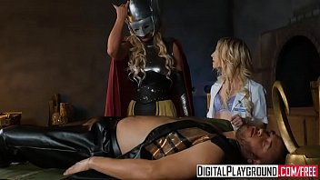 DigitalPlayground - Whor Goddess of Thunder A DP Parody Part 2 Phoenix Marie and Piper Perri