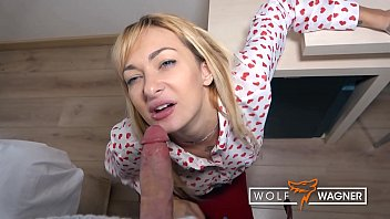 Cute LOLA SHINE turns into a cum slut during a dirty fuck date! ▁▃▅▆ WOLF WAGNER DATE ▆▅▃▁ wolfwagner.date