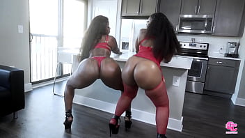All This Chocolate Ass and Pussy To Eat