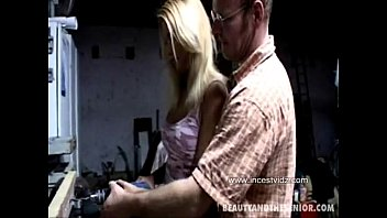 Old Daddy And Beautiful Blonde Step Daughter (what is her name?)