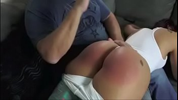 Mouthy Latina Spanked Hard OTK