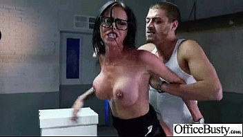 Hardcore Sex Tape In Office With Big Melon Tits Girl (brandy aniston) video-12