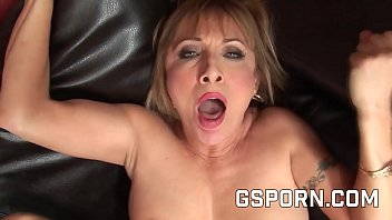 Hot mature milf Luna Azul fucked by a rough young cock