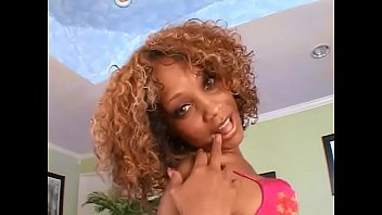 Pornstar raven vixen - Redhaierd curly haired ebony babe raven vixen rides black cock on a red velvet couch