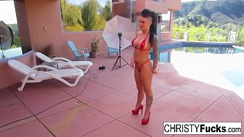 Sexy Christy Mack shows off her hot body in this compilation