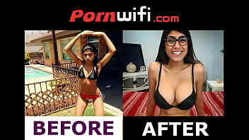 Breast surgery dressing Mia khalifa before boob job - pornwifi.com
