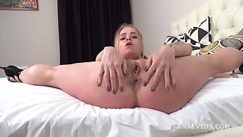 Alexa Flexy 4on1 Balls Deep Anal, Gapes, ButtRose and Cum in Mouth GL376