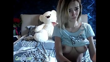 Adorable cam teen with big firm tits ohmibod play CamJoie.com