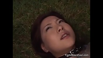 Japanese sex egg - Japanese teen lesbian dominated outside by group of teens