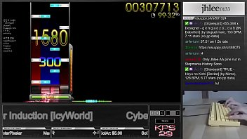 osu!mania | Cyber Induction [IcyWorld]  DT | Played by jhlee0133