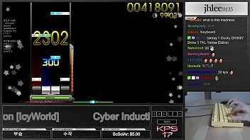 Osu shaved Osumania cyber induction icyworld dt played by jhlee0133