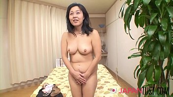 Japanese Granny Enjoys Rough Fucking