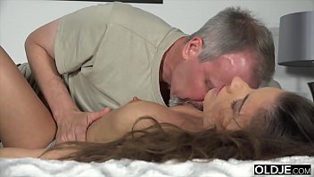 Two Old Man Fuck A Petite Teen Anal And Pussy Plus With Facial Cumshot