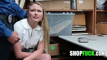 Big Cock Merciful Officer Fucked The Thief Schoolgirl And Let Her Go - SHOPFUCK