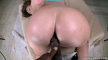 Big White Ass gets Black Cock Anal image