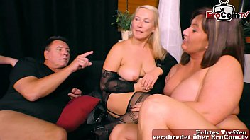 german neighbor make her first time private swinger party