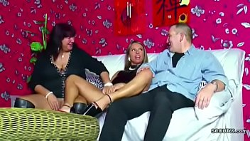 German Mom and dad Seduce not Step-daughter to Fuck