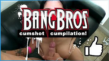 Cum on tits videos Bangbros - slow motion cumshot cumpilation video fuck yeah