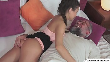 romantic time with grandpa