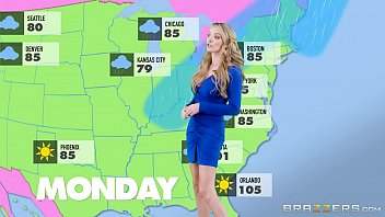 Check naked weather forecaster Forecasting several inches or what to expect from hurricane with jane douxxx