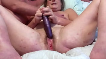 Gilf Wife Loves To Play With Her Vibrators Toy Wet Cunt