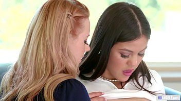 GIRLSWAY - Helpful lesbian counselor is here! - Lexi Belle and Kendra Spade