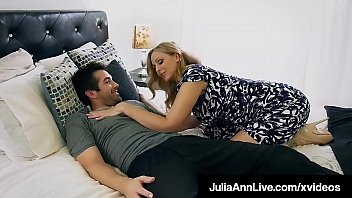 Julia burke naked - Mommy is that you hot milf julia ann face fucks step son