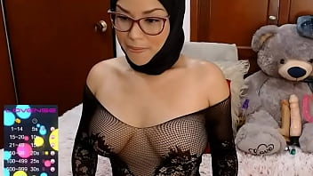 Cam live hot Arab latina show for lover through xhamster live pussy dildo fucking