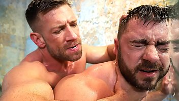 Gay porn free hot Two hot gay hunks fucking hard in the shower