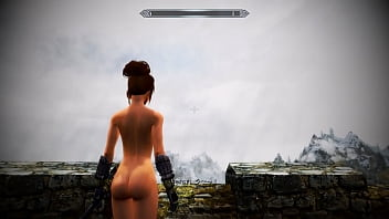 [SKYRIM MOD] Sexy Battle with Odahviing