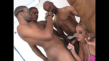 Bigf white cocks White chick gets black cock gang bang