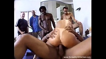 Double screw sex Interracial dp threesome with bbc