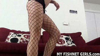 I found out all about your little fishnets fetish JOI