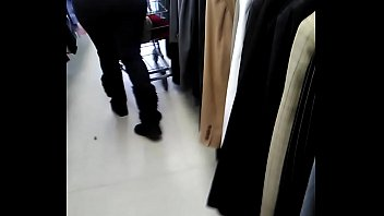 Phat ass lady in a thrift store smhh