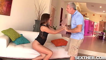 Horny Ariana Grand Fucking Older Gentleman