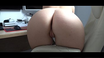 This slutty hot secretary suck my cock and fucks in the boss office