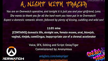 [OVERWATCH] A Night With Tracer| Erotic Audio Play by Oolay-