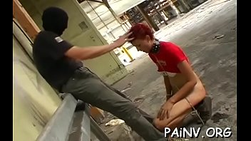 Slut that craves pain gets completely tied up and tortured