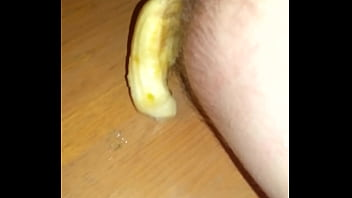 Toy in ass Banana falls out 36 sec