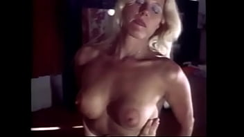 Playful blonde bimbo did miss hard cock but she doesn't feel comfortable yet to take it in her cunt giving birth, she wanted her lover to fuck her mouth and make cocktail from hos cum and her milk
