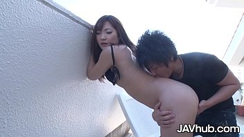 JAVHUB Ami Ishihara gets fucked and squirts outdoors