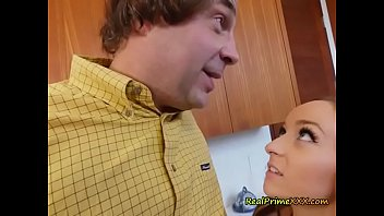 Teen Slut Jessica Lynne Blows Dads Hung Buddy