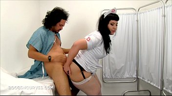 Plump Nurse revives her patient