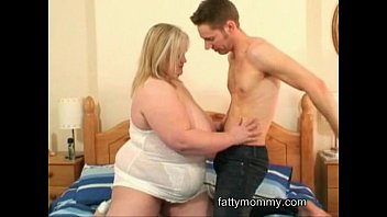 obese blonde housewife fucking sex with her hubby cock