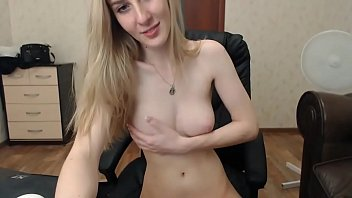 Sexy russian babe naughty on cam show - watch live at AngelzLive.com