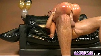 Anal Hard Intercorse On Cam With Gorgeous Big Round Ass Oiled Girl (nikki benz) video-25
