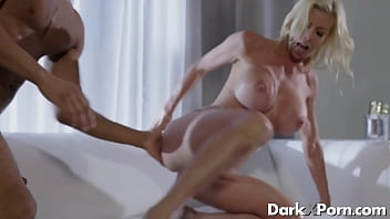 Busty mommy hardcore sex with a black guy