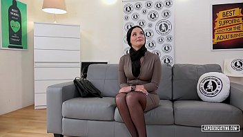VIP SEX VAULT - Slovak babe Lucia Denville takes big cock in naughty audition