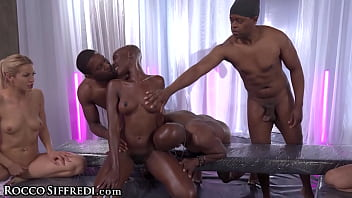 RoccoSiffredi Cherry Kiss & Her Girlfriends Are Gangbanged & Destroyed Hard By Huge Dicks